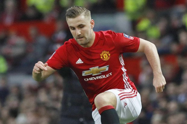 City Memantau Pemain Cadangan United Luke Shaw