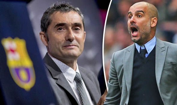 Emesto Valverde Merasa Dirinya Setara Dengan Jose Pep Guardiola