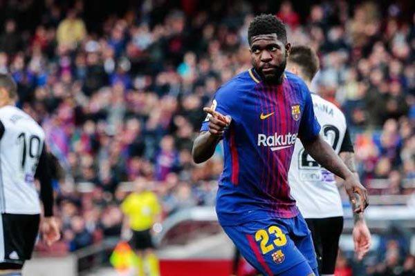 Barcelona Dikabarkan Naikkan Klausul Rilis Samuel Umtiti